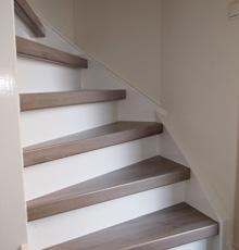 Traprenovatie en trapbekleding in den bosch edwin laven traprenovatie - Renovatie houten trap ...